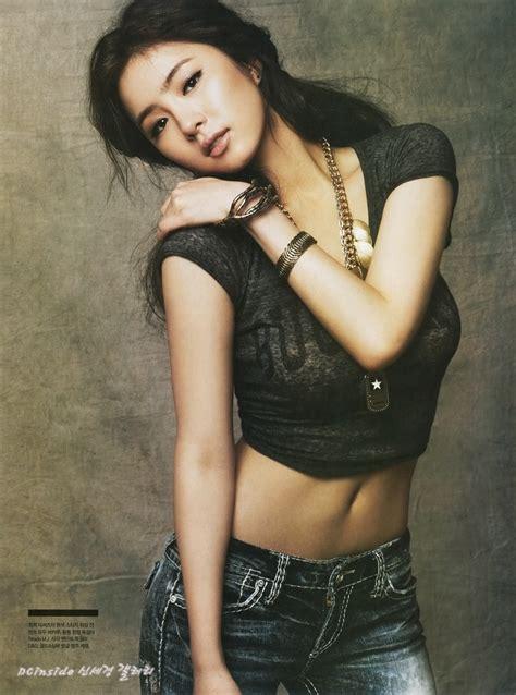 hot asiana bio artis aktor korea shin se kyung korean actress magazine photos saikodaily