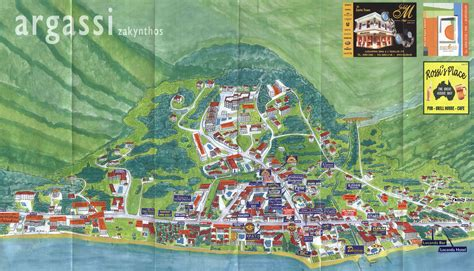 printable map of zante la sirena apartments