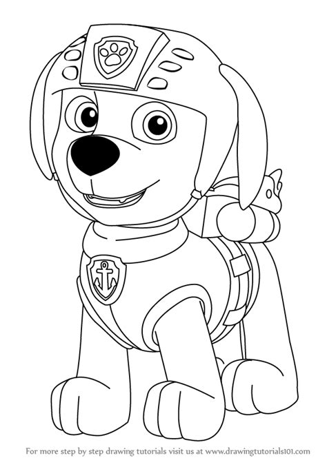 learn how to draw paw patrol badge paw patrol step by step drawing paw patrol skye by pawpatrolfan66 learn how to draw paw