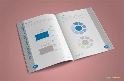 brand book template minimalistic branding guidelines template brandbook