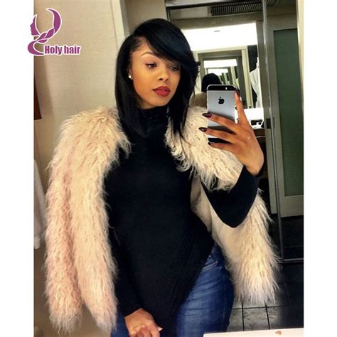 12 inch weave hair styles for women hotsale brazilian virgin human hair bob wigs for black