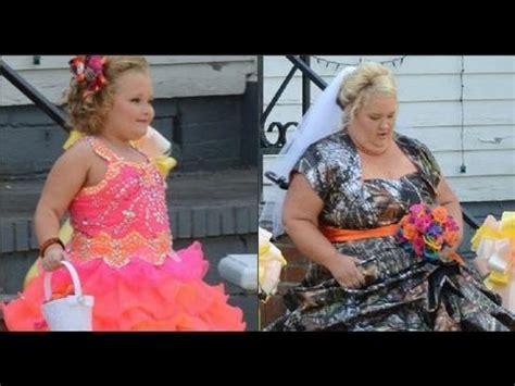 a honey boo boo bride youtube honey boo boos wedding youtube