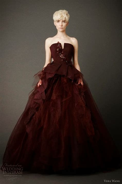 Wedding Dress Maroon by Burgundy Wedding Dress Formal Dresses
