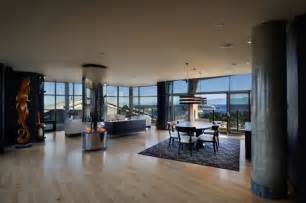 Luxury penthouse apartment with 360 degree views over victoria canada