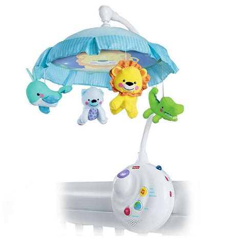 Crib Projector Mobile by Fisher Price Newborn 2in1 Projection Crib Mobile