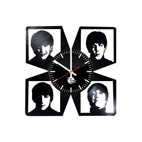 gifts for beatles fans the beatles handmade vinyl record wall clock fan gift