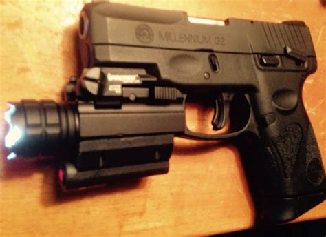 taurus pt111 g2 light taurus pt111 g2 9mm with iprotec rm190 light with laser