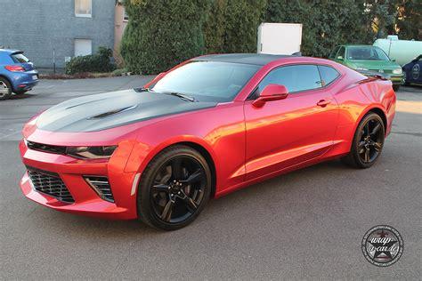 Folie Metallic Rot by Chevrolet Camaro Folierung By Wrap A Car De