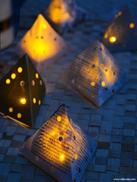 How To Make Diwali Paper Lanterns - diwali lantern tutorial 13