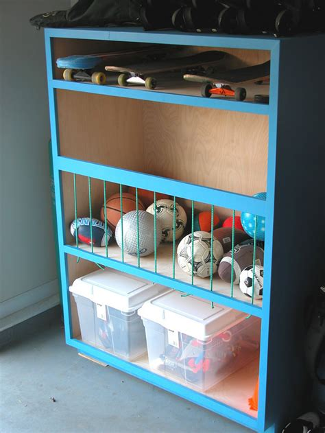 Garage Sports Storage Ideas 35 Diy Garage Storage Ideas To Help You Reinvent Your