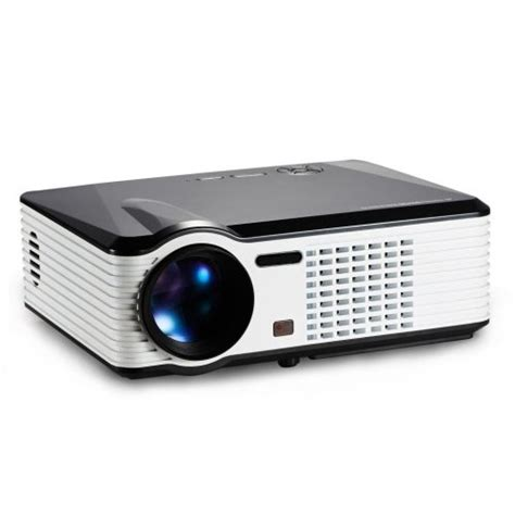 Home Theater Bandung home theater projector led 2500 lumens with usb support 800x480p prs200 black