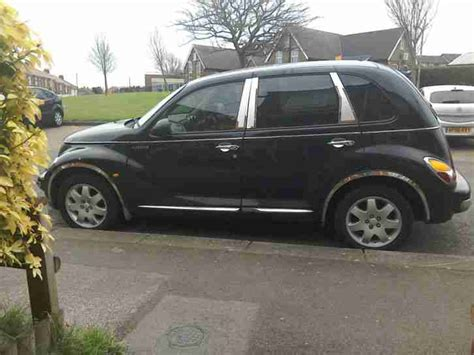 Pt Cruiser Manufacturer by Chrysler Pt Cruiser Tourer 2 4 Black And Chrome With