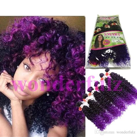 expression curl kinky curly deep wave peruvian hair curly 6 bundles ombre