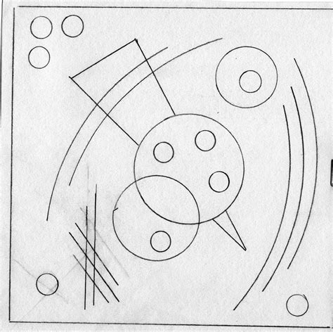 kandinsky coloring sheets coloring pages