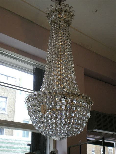 Edwardian Chandelier Edwardian Chandelier Possibly Waterford Youngandson