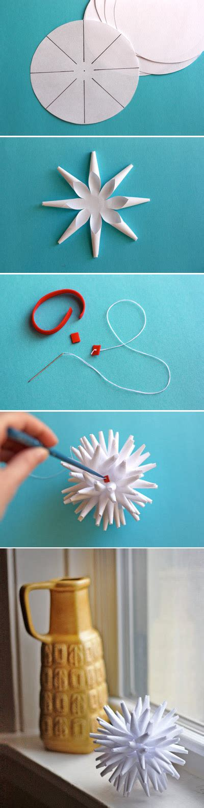 Modern Paper - modern paper porcupine ornament 40 diy home decor ideas