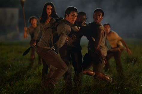 ending film maze runner 2 kaya scodelario talks the maze runner and skins collider
