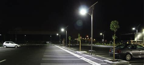 lights park solar lighting for your car parking area od motoring