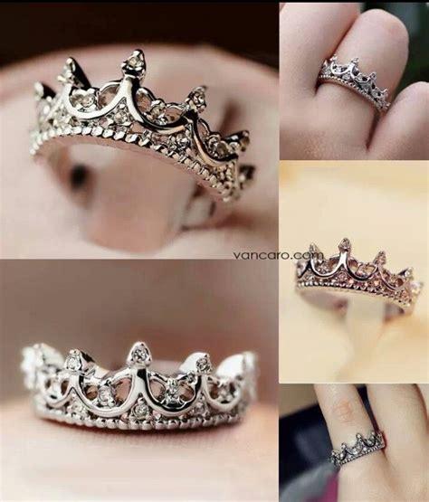 princess tiara ring rings i like princess