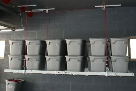 Motorized Overhead Garage Storage Systems by Motorized 4 215 8 1 The Garage Organization Company