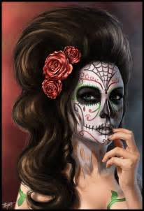 day of the dead by renecbellart on deviantart