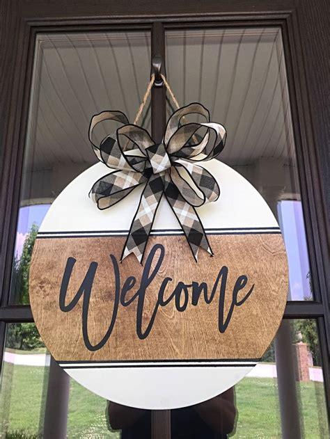door hanger farmhouse   season front door