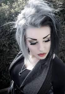 grey and black hair new hair color pinterest