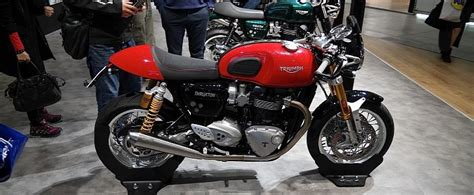 Triumph Motorrad Tuningteile by Eicma 2015 Triumph Thruxton And Thruxton R Look Sharp And