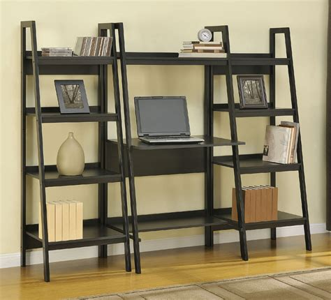 Ladder Bookshelf And Desk Viendoraglass Com Ladder Bookcase Desk