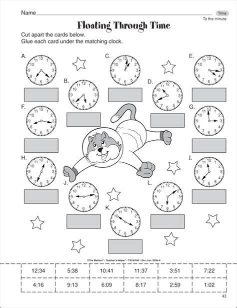 Printable Math Time Worksheets For 3rd Grade | time math worksheets printable 3 english