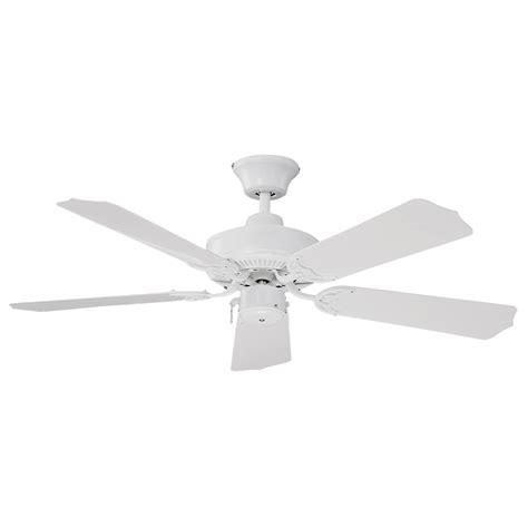 Lowes Outdoor Ceiling Fans by Shop Litex 42 Quot All Weather White Outdoor Ceiling Fan At