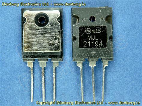 transistor mjl semiconductor mjl21194 mjl 21194 transistor silicon npn 250v 16a 200w 4mhz