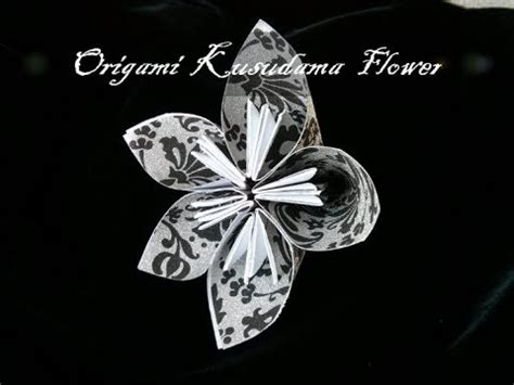 How To Write Origami In Japanese - how to make japanese kusudama paper flower origami in