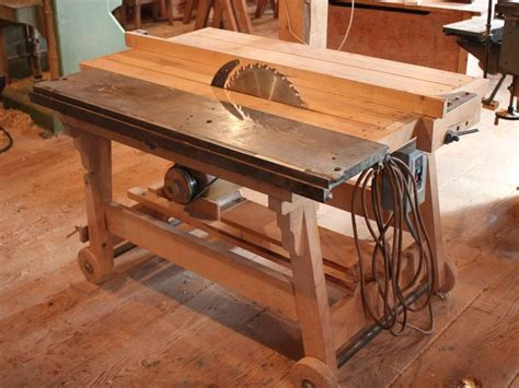 how to make a bench saw dad s homemade table saw