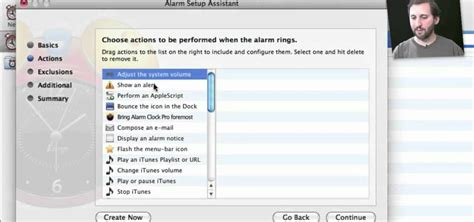 how to use the alarm clock pro alarm app on a mac os x computer 171 operating systems wonderhowto