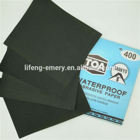 Waterproof Craft Paper - thailand toa abrasive paper silicon carbide waterproof
