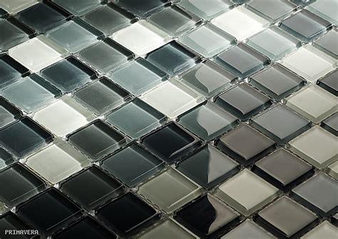 fliesen hochglanz grau glasmosaik melange grau dc410 hochglanz glas mosaik