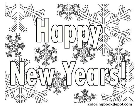 new year s bell coloring page printable new years coloring pages