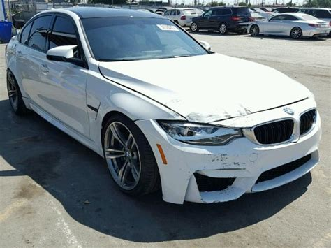 Bmw M3 For Sale Los Angeles by 2016 Bmw M3 For Sale At Copart Los Angeles Ca Lot 31590857