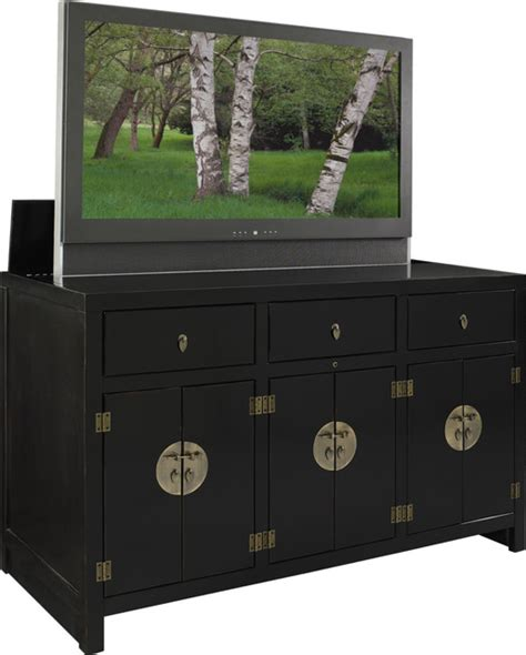 tv lift cabinets for flat panel tv s asian