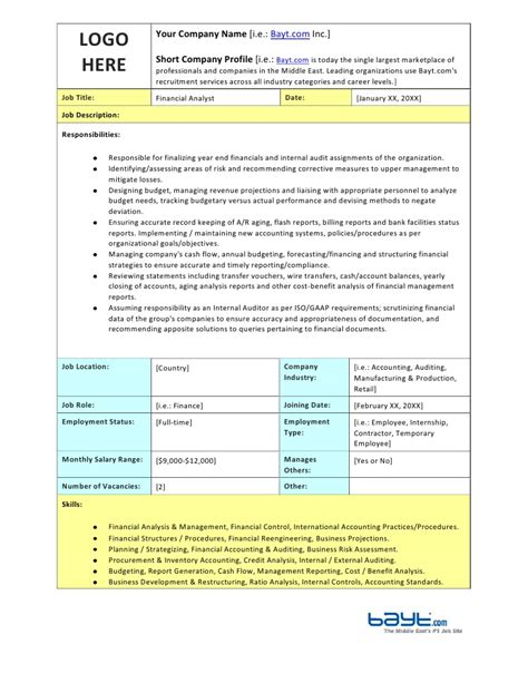 iso description template iso description photos gt gt process engineer