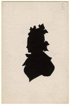 benjamin silhouette possibly by benjamin pearce silhouette