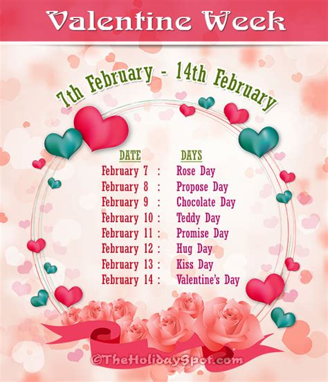 7 days of valentines images of seven days of valentines week 2017