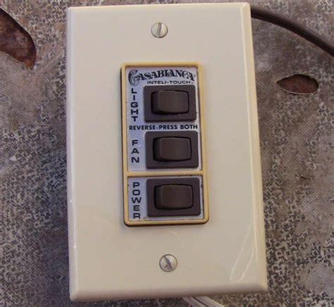 casablanca 4 speed fan switch casablanca four seasons inteli touch ceiling fan