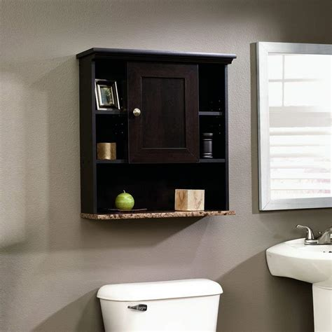 bathroom wall cabinet cherry wall mount shelf storage shelf towel medicine