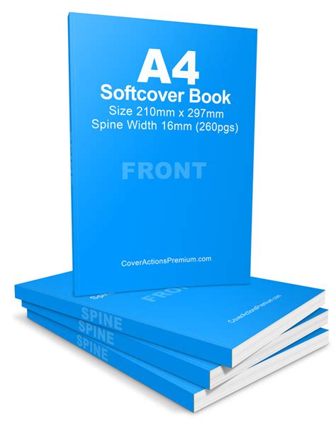 softcover book cover actions portrait  pgs cover