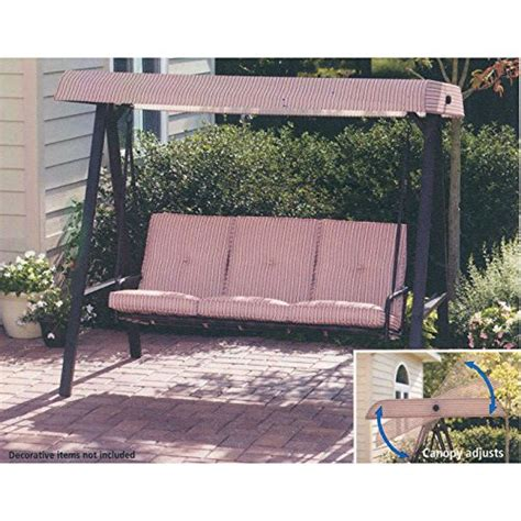 3 person swing walmart garden winds replacement canopy for walmart 3 person