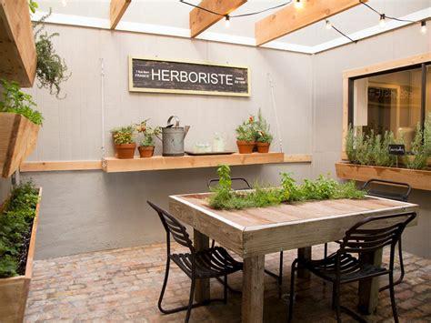 Kitchen Bench Herb Garden Photo Page Hgtv