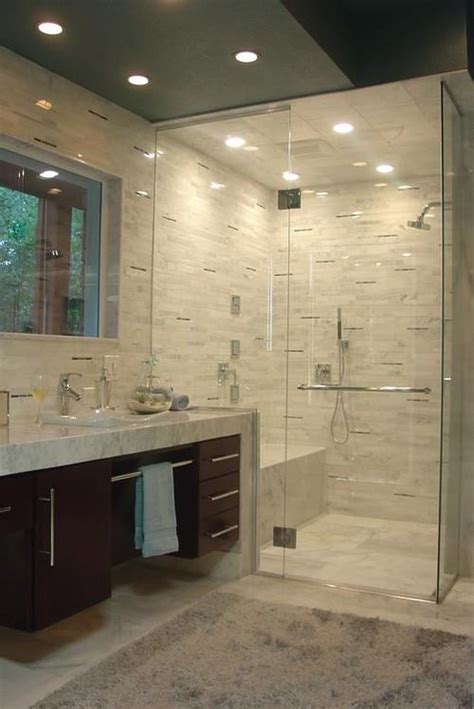 amazing walk  shower ideas   inspire