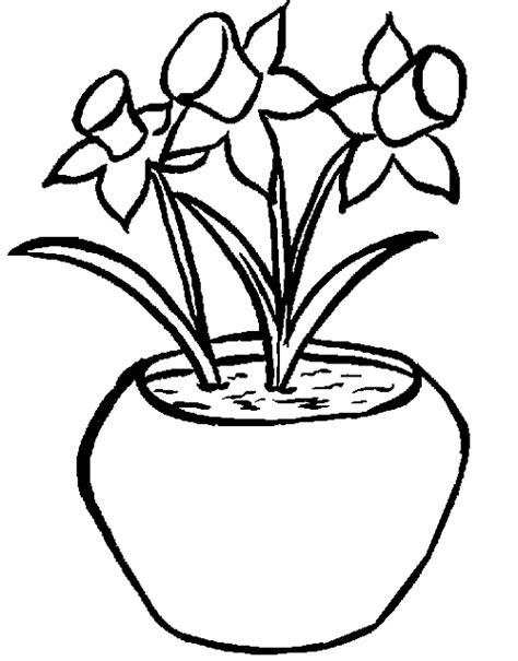 vaso di fiori da colorare vaso di fiori disegni da colorare disegni da colorare